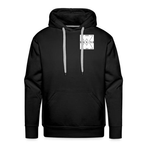 Ben Scho YT box logo - Men's Premium Hoodie