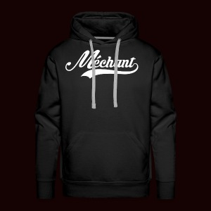 mechant_logo_white - Sweat-shirt à capuche Premium pour hommes