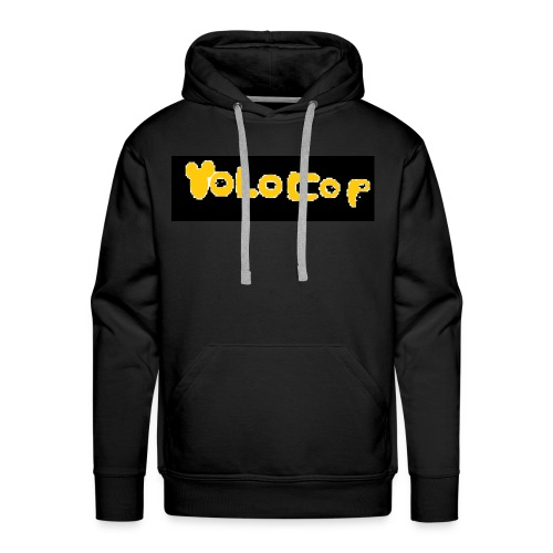 Pixelart YOLOCOP - Männer Premium Hoodie