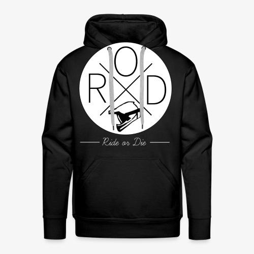 RideorDie Weiß - Männer Premium Hoodie