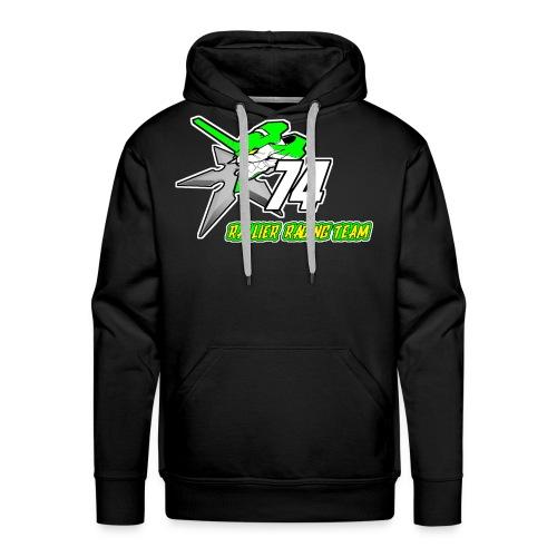 Rallier Racing Team - Sweat-shirt à capuche Premium pour hommes
