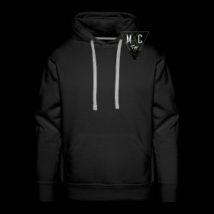 M.C.Tees Logo on our new collection - Men's Premium Hoodie