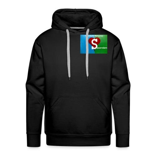 His werk logo 1 - Mannen Premium hoodie