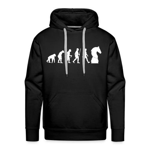 schach | Schachbrett | Schachmatt | Evolution - Männer Premium Hoodie