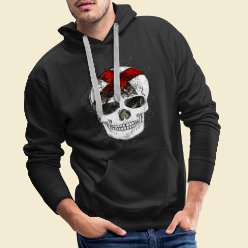 Radball | CycleBall Skull - Männer Premium Hoodie