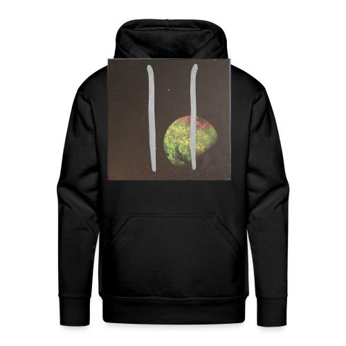 Lone Planet, Universum - Männer Premium Hoodie