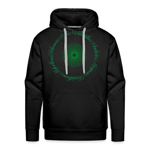 Les Chakras - Sweat-shirt à capuche Premium pour hommes