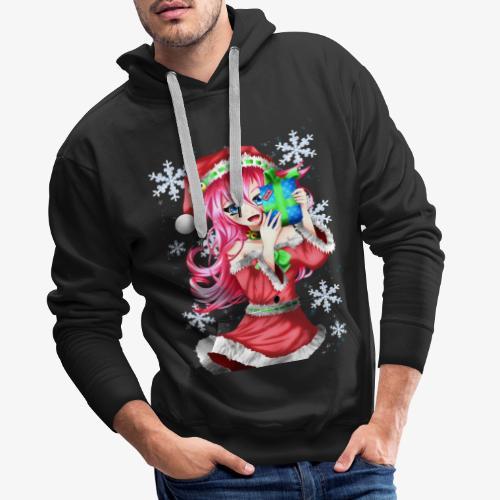 navidad - Sudadera con capucha premium para hombre