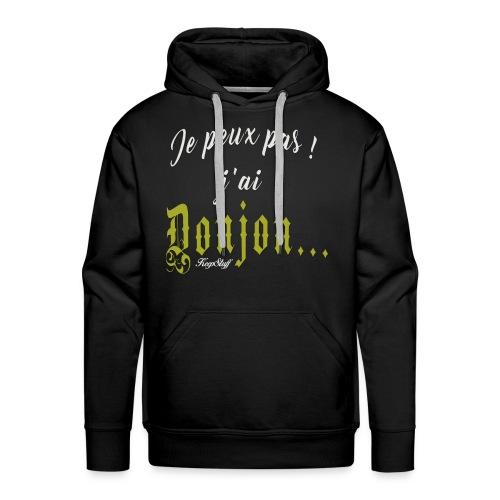 KeepStuff-Jaune-Donjon - Sweat-shirt à capuche Premium pour hommes