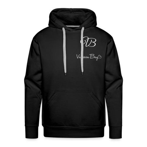 VanessaBayLogoWhiteXXXL 1 - Männer Premium Hoodie