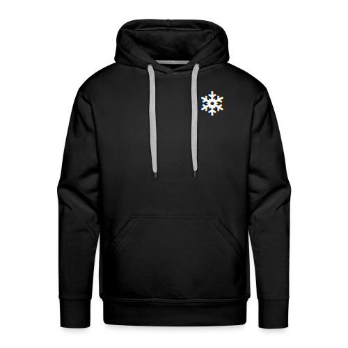 Logo Futur Snowflake - Sweat-shirt à capuche Premium pour hommes