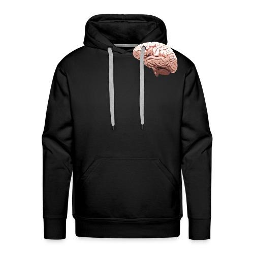 Brain - Sweat-shirt à capuche Premium pour hommes