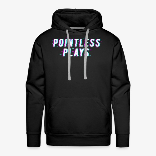 T-Shirt Pointless Logo - Men's Premium Hoodie