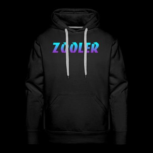 Zooler BANCO blue and purple - Sweat-shirt à capuche Premium pour hommes