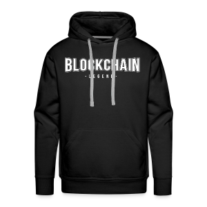 BLOCK CHAIN ​​LEGEND - Men's Premium Hoodie