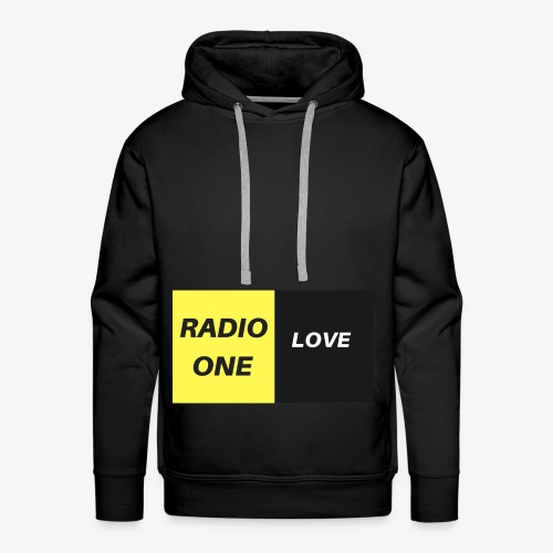 RADIO ONE LOVE - Sweat-shirt à capuche Premium pour hommes