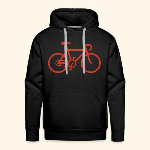 BIG bike red 001 - Männer Premium Hoodie