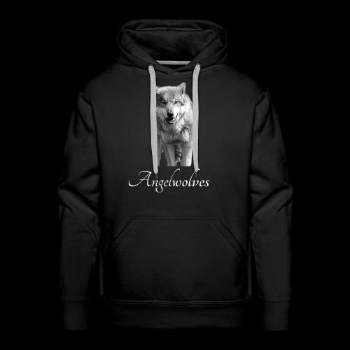 Wolfskopf Angelwolves - Männer Premium Hoodie