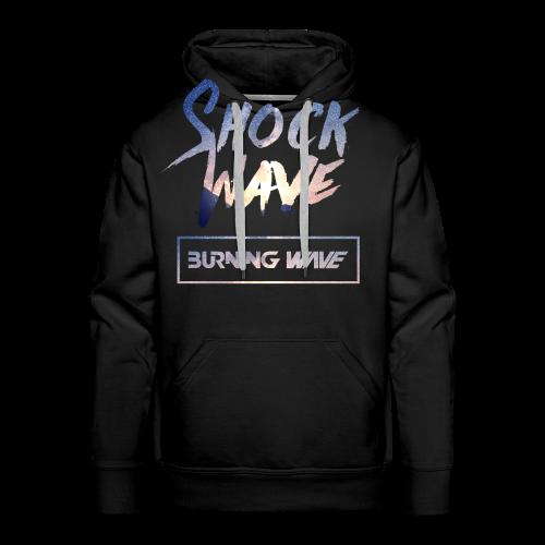 Burning Wave - Shock Wave - Sweat-shirt à capuche Premium pour hommes