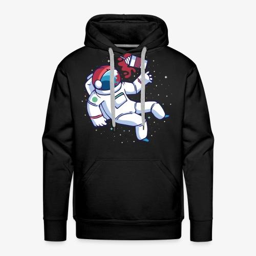 Astronaut Ice Coffee - Men's Premium Hoodie