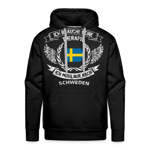 Schweden T-Shirt Urlaub - Männer Premium Hoodie