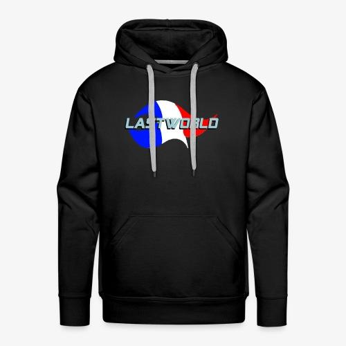 Collection LastWorld Drapeau Français - Sweat-shirt à capuche Premium pour hommes