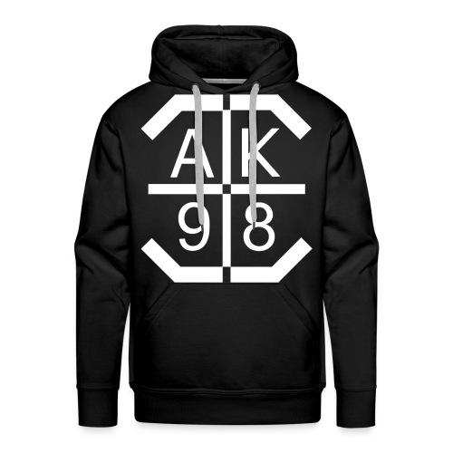 AK 98 // WHITE EDITION - Männer Premium Hoodie