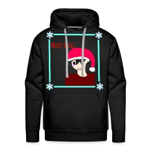 Merry Xmas Animo - by Alpha - Männer Premium Hoodie