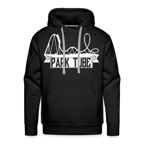 ParkTube Banner mit Achterbahn - Männer Premium Hoodie