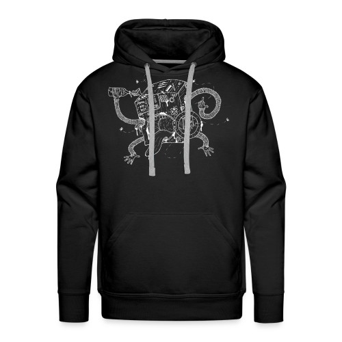 The Crazy Washing Machine - Männer Premium Hoodie