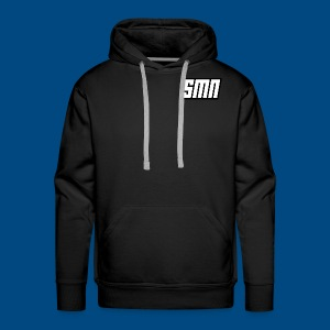 Sense Makes None Flat Logo - Men's Premium Hoodie
