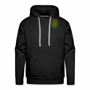 1980's Bigfoot Glow Design - Men's Premium Hoodie