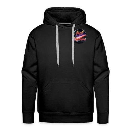 logo last dream v4 - Sweat-shirt à capuche Premium pour hommes