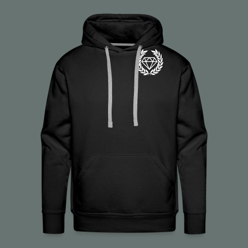 White Diamond - Men's Premium Hoodie