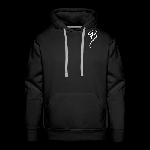 BRAND CLOTHING WHITE - Men's Premium Hoodie