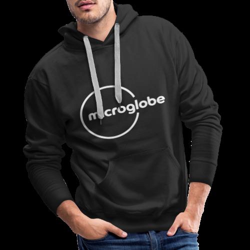 microglobe Logo - Männer Premium Hoodie