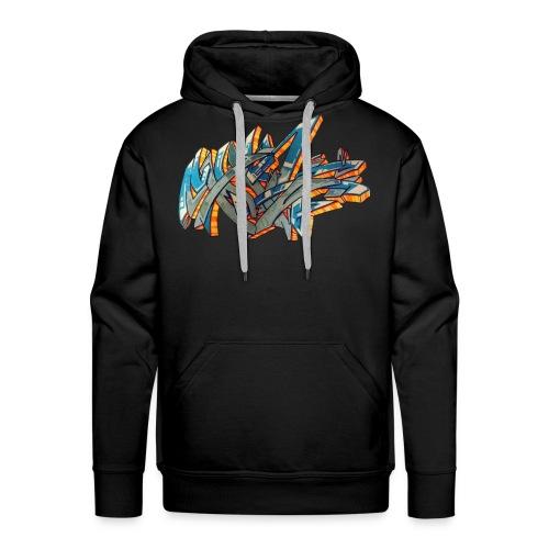 Srow wildstyle sensation 1 - Sweat-shirt à capuche Premium pour hommes