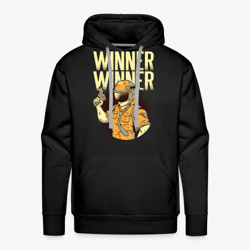 Winner Winner Gaming Gamer - Men's Premium Hoodie