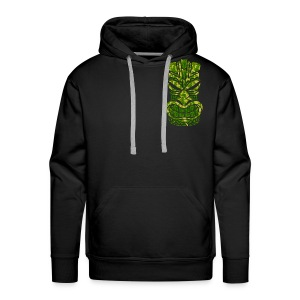 Tū of the angry face - Men's Premium Hoodie