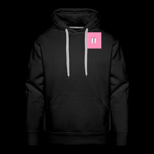 Pastel Pink Tile Hoodie - Men's Premium Hoodie