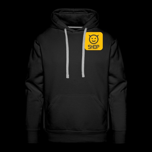Logo BLDG SHOP n°2 - Sweat-shirt à capuche Premium pour hommes