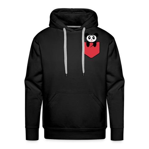 Panda Street Life - Sweat-shirt à capuche Premium pour hommes