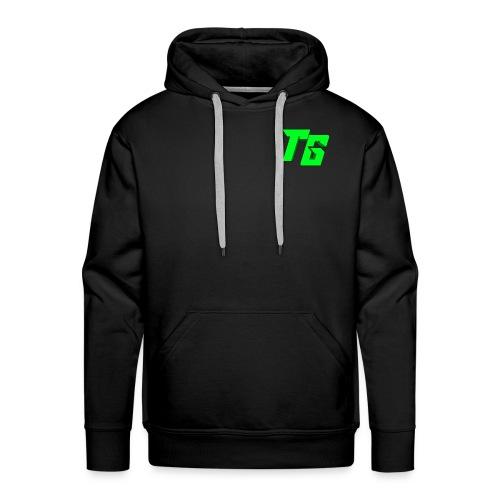 Tristan Jeux marchandises logo - Sweat-shirt à capuche Premium pour hommes