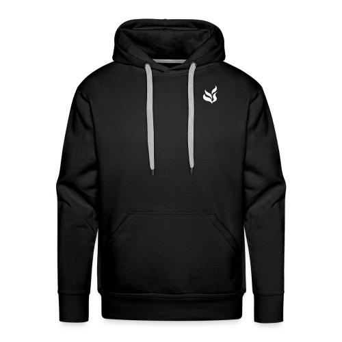 Blanc - Sweat-shirt à capuche Premium pour hommes