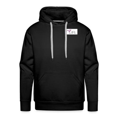 YR LIFE STYLE - Sweat-shirt à capuche Premium pour hommes