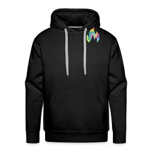 Flaming Logo - Men's Premium Hoodie