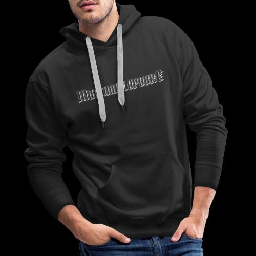 Multimillopobre - Sudadera con capucha premium para hombre