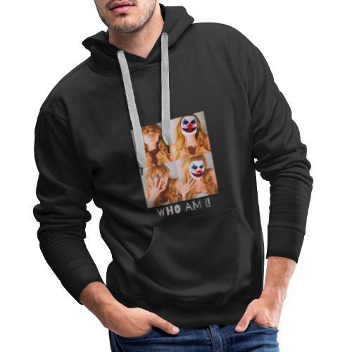 Who Am I! Tshirt - Men's Premium Hoodie