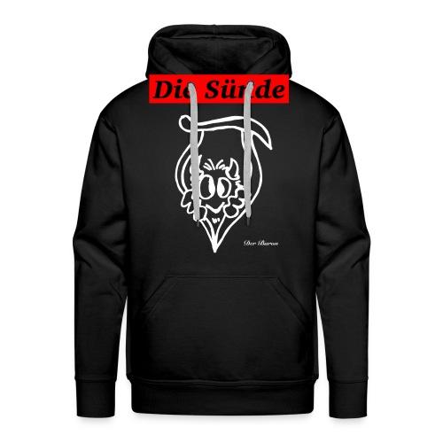 Loge DIE SÜNDE designed by antonia - Männer Premium Hoodie