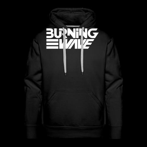 Burning Wave Block - Sweat-shirt à capuche Premium pour hommes